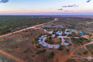 Mungo Lodge aerial, Outback Rivers Drive
